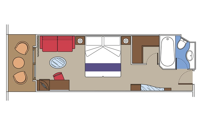 Yacht Club Suite Deluxe